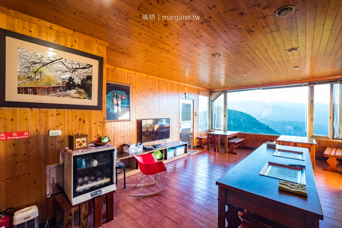 生力農場民宿。隙頂茶園雲海就在窗前|阿里山好客民宿