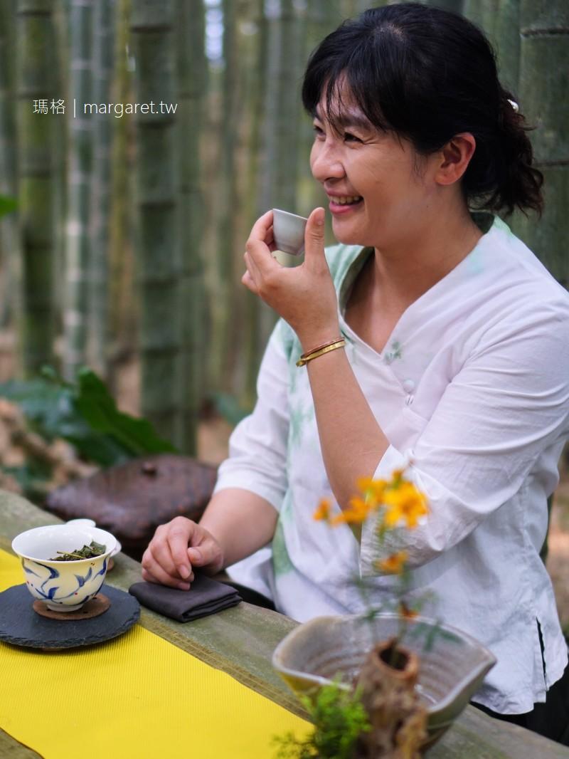 嘉義梅山。瑞峰竹林茶席|在優美山林間品嘗阿里山優質高山茶