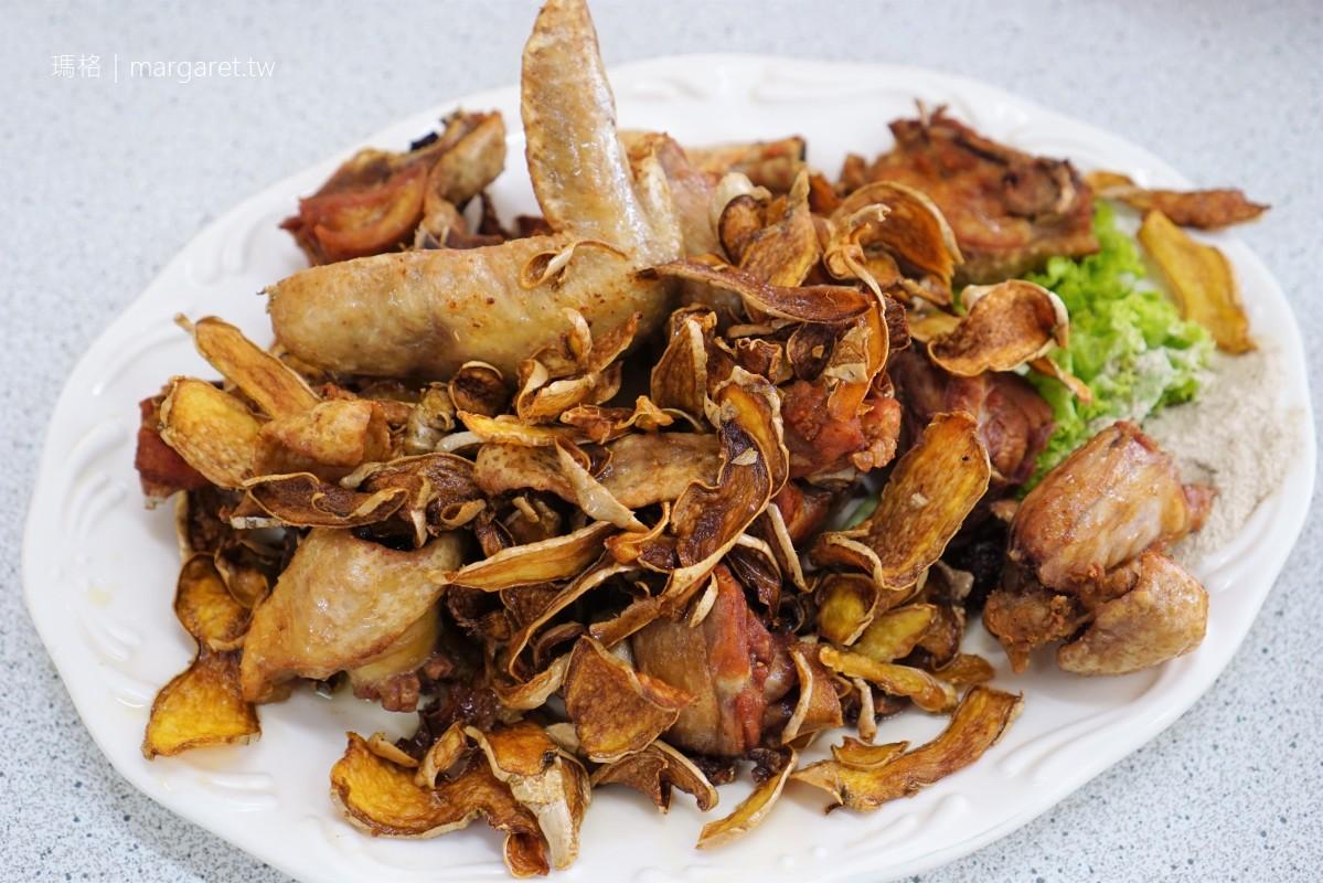 二尖山休閒茶園餐廳。大推老中青三代菜脯雞湯|嘉義梅山風味料理