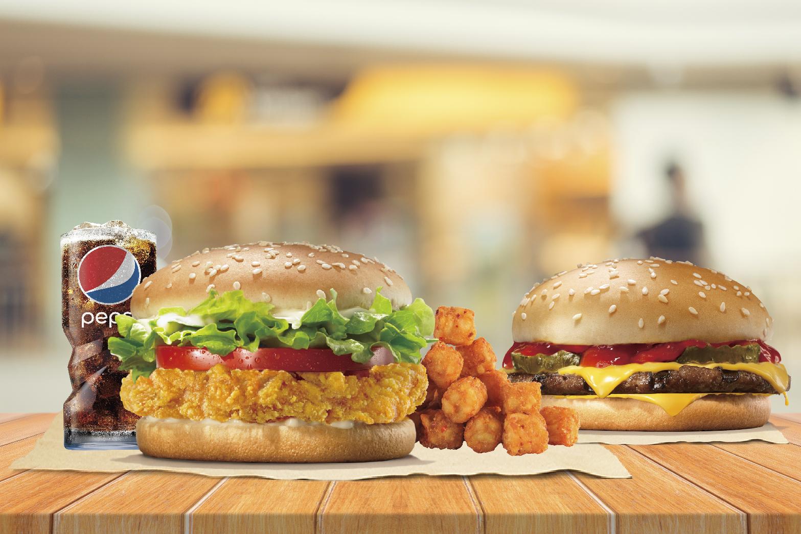 最新推播訊息:漢堡王買1送1不稀奇。買5送5還可「寄餐」分批使用更酷