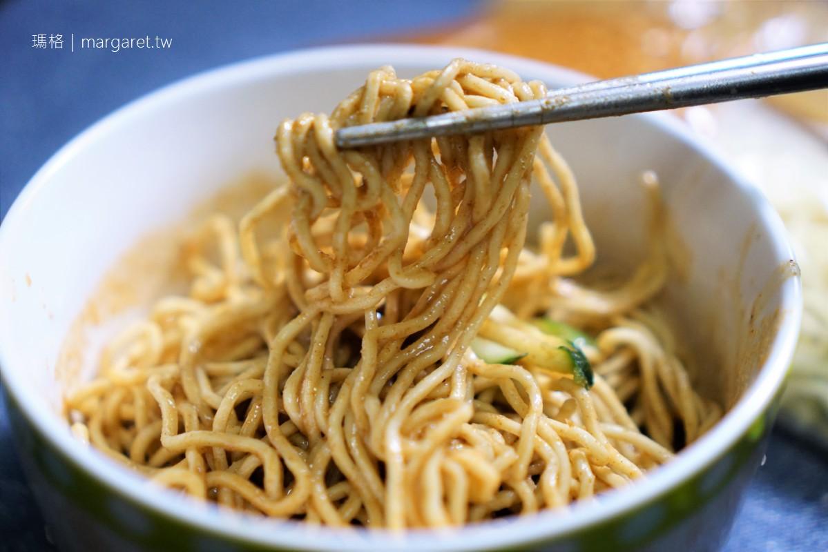 劉媽媽涼麵。重蒜濃厚麻醬系 只賣宵夜與早餐的台北涼麵夜店