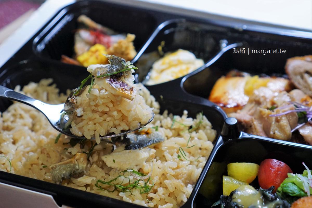 燈燈庵TouTouAn。大安區會席料理便當|以北海道王牌米製作的香魚蒸籠御飯。美味超乎期待