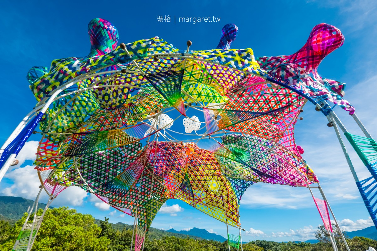 雲朵製造所。關山親水公園人造山丘頂|2021縱谷大地藝術季