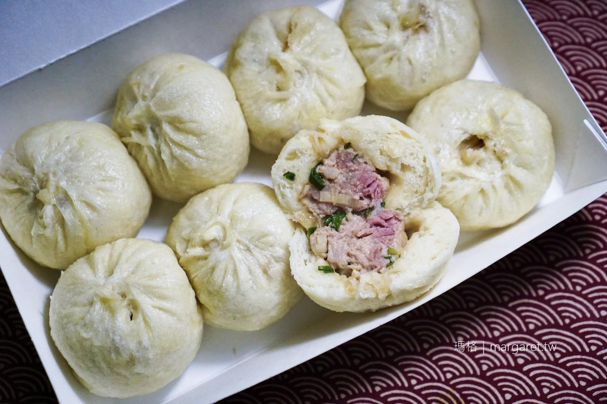 龍城市場上海小籠包。內餡鮮美老麵發酵麵皮有嚼勁|台北松山區人氣美食