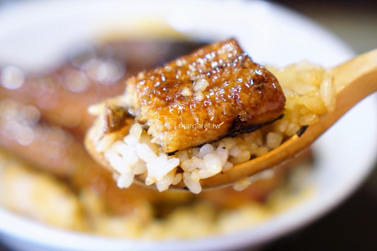 台南室町鰻丼。炭烤活鰻三吃 限量霸王鰻丼。蔣勳、江振誠都曾是座上賓