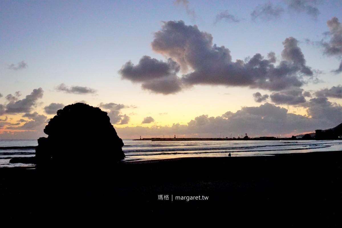 島根出雲稻佐之濱。神無月的迎神海灘|日本夕陽百選。日本海濱百選
