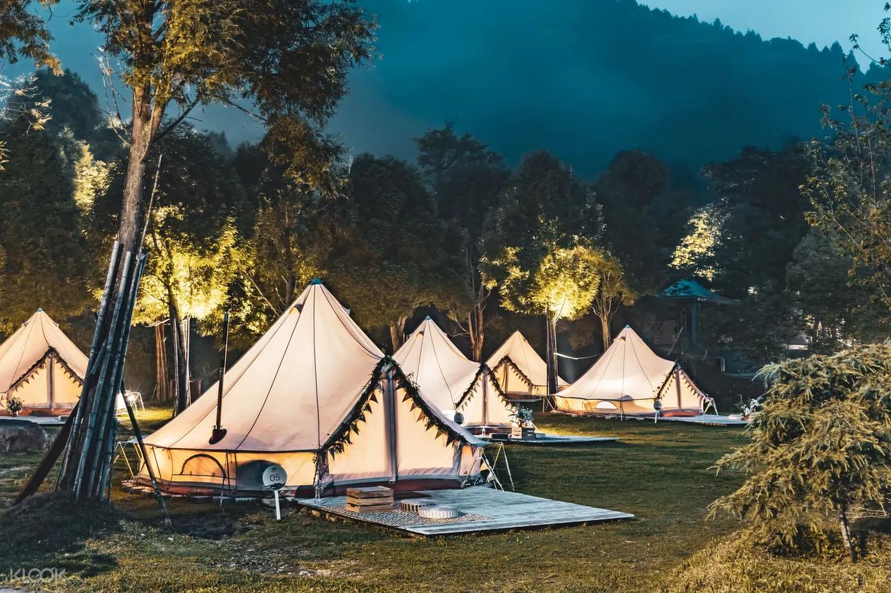 最新推播訊息:豪華露營75折限時限量優惠。微解封與自然同宿大受歡迎