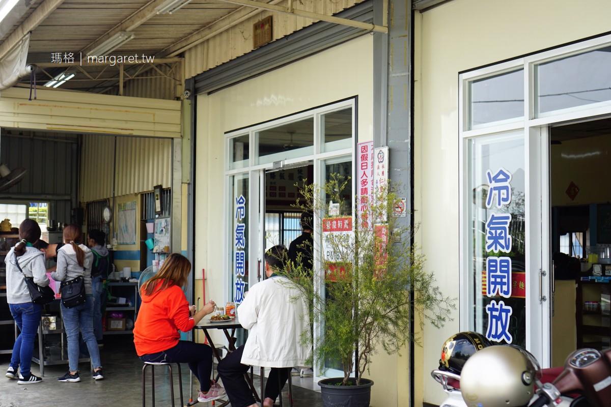 蘭潭古早味麵店。切滷菜是重點|嘉義酒咖帶路小吃