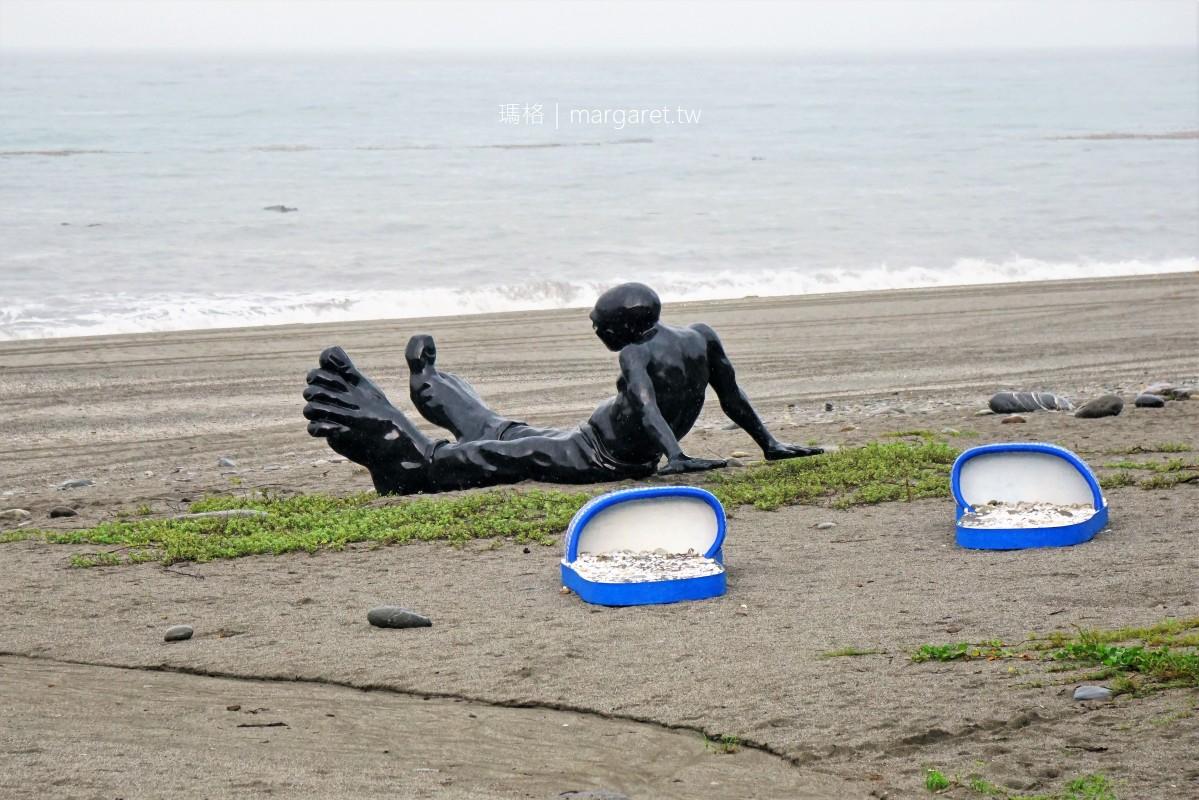 千禧曙光紀念園區沙灘。南迴藝術季|潮・南 x 行走的意識