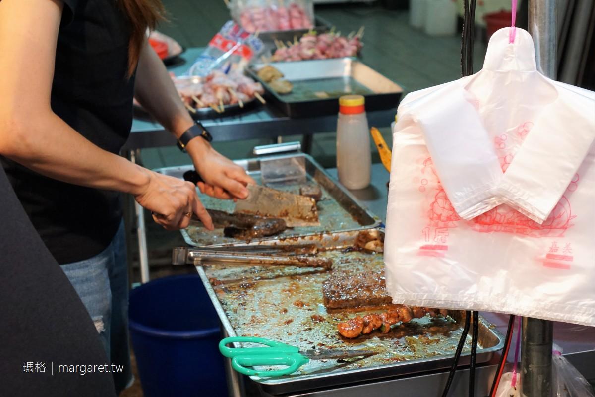 小陸碳烤鬧雙包?50年老店回歸嘉義文化路夜市|米血依然是招牌