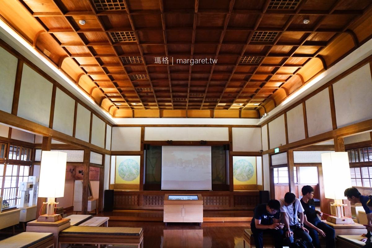 昭和J18。在檜木建造的日本神社喝咖啡 公園裡的嘉義市史蹟資料館