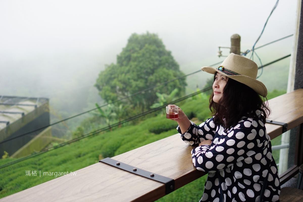 璟隆咖啡。隙頂金質獎景觀咖啡 藏在阿里山公路旁的A5和牛火鍋