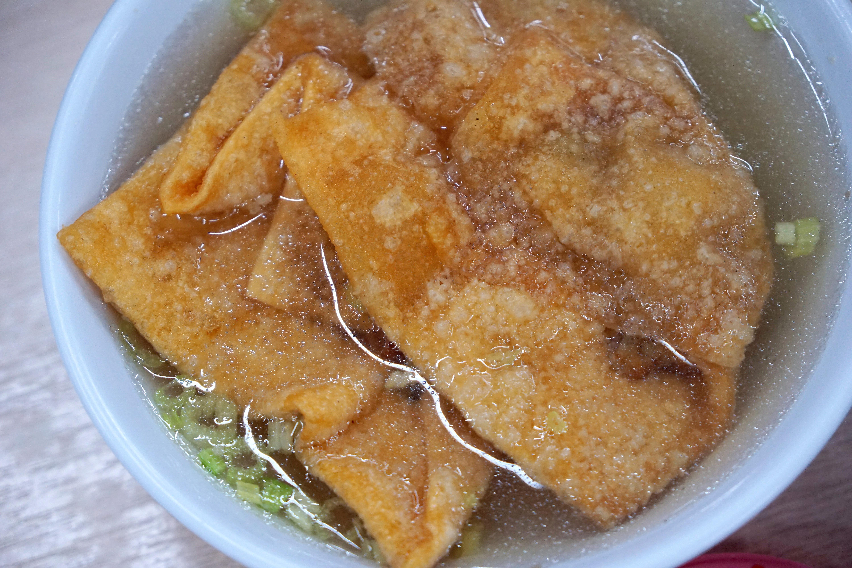 阿三意麵。鹽水人氣美食|別處吃不到的肉燕酥
