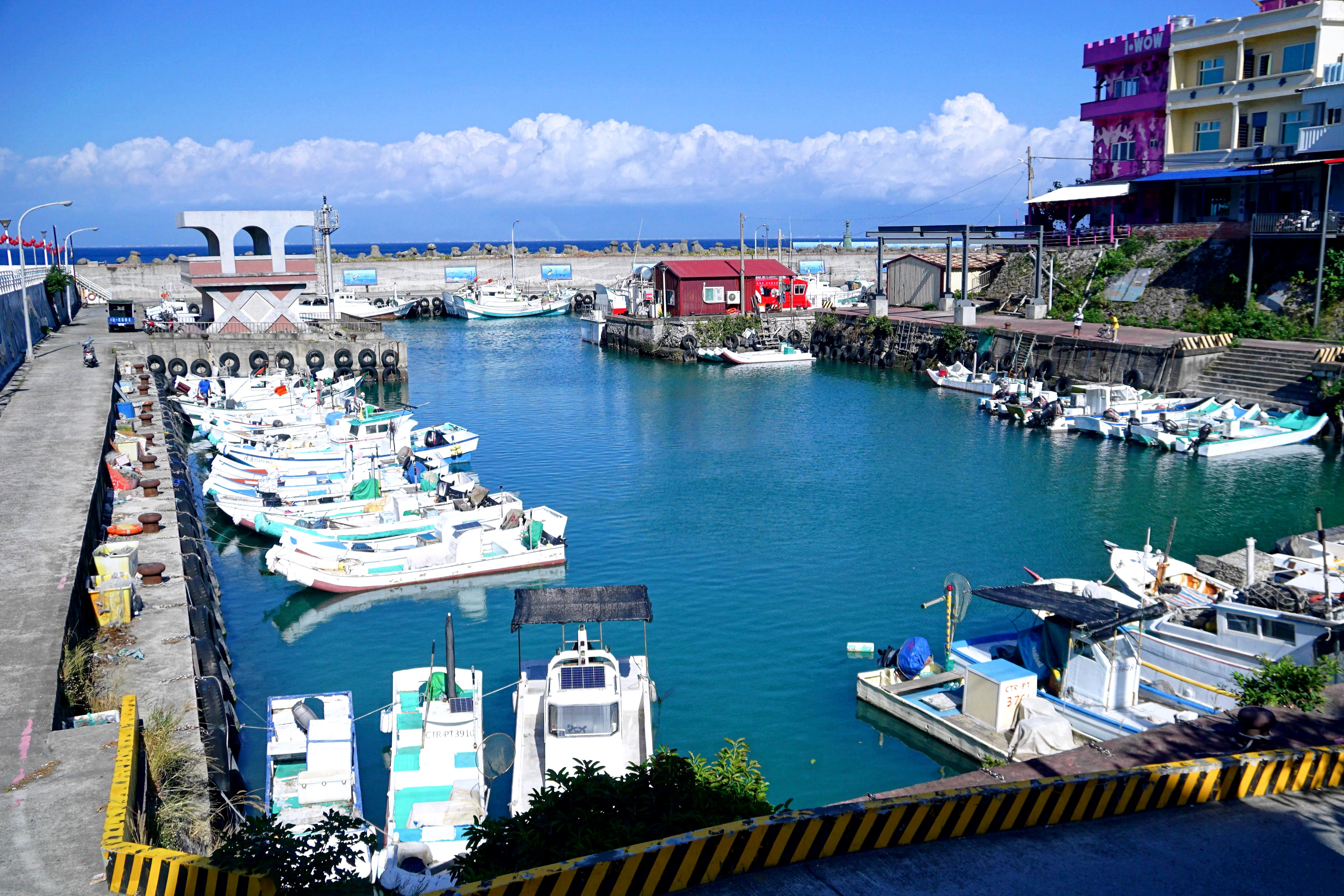 花瓶岩。珊瑚礁浮潛勝地|小琉球遊客中心的希臘角落