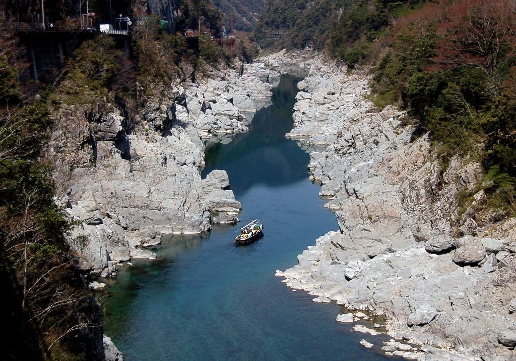 大步危小步危。溪谷遊覽船|日本三大暴川。秘境100選