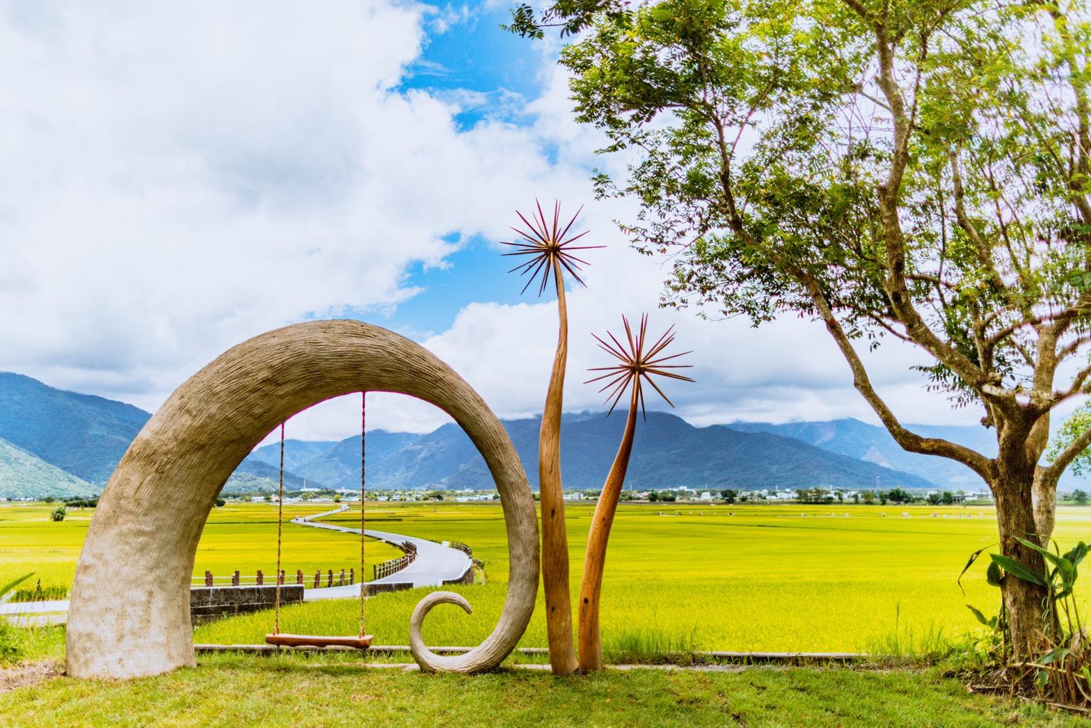最新推播訊息:台東漂鳥197。縱谷大地藝術季|初夏到秋收的詩意