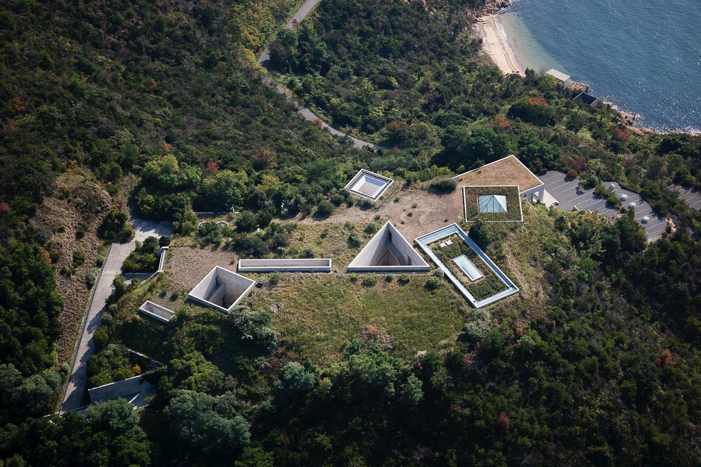 地中美術館。直島|安藤忠雄建築代表作。在自然光下欣賞莫內睡蓮
