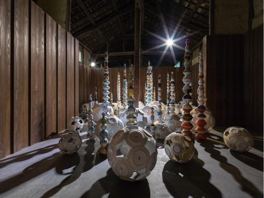 一個接一個つぎつぎきんつぎ。迷路之町|小豆島No. sd22。瀨戶內國際藝術祭2019