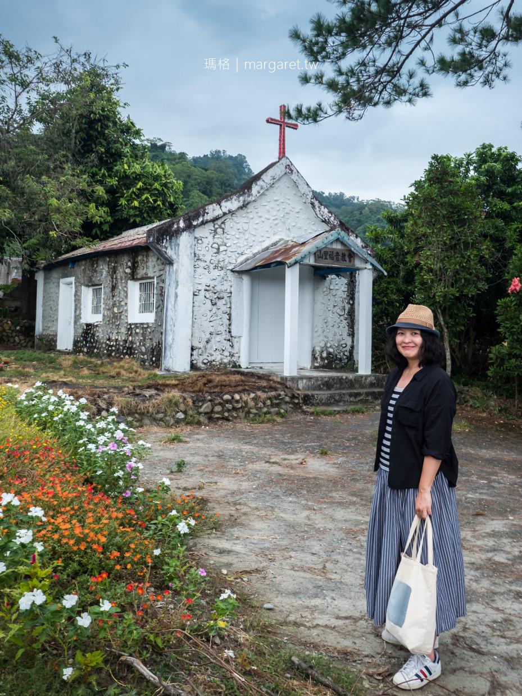 山里。傳說中到不了的車站|老松樹下的百年鵝卵石教堂