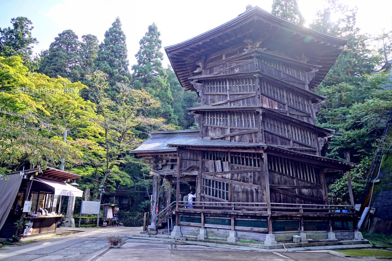 螺旋堂(さざえ堂)。神奇的雙螺旋結構木造建築|米其林綠色指南推薦。NHK世界100名建築 @瑪格。圖寫生活