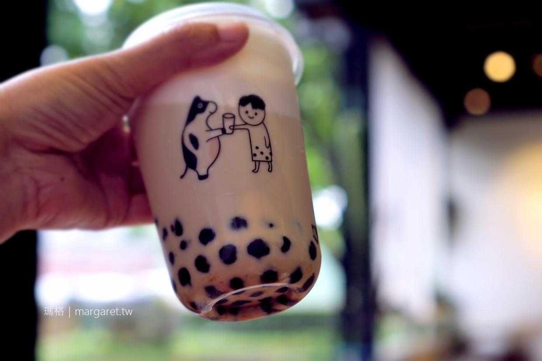 鮮乳坊x波哥好飲。我愛炒糖鮮奶珍珠|台北華山牧場快閃店 (2/28~7/31期間限定) @瑪格。圖寫生活