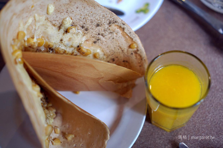 伊莉的店。台南老派早午餐|難以捕捉的人氣法式薄餅