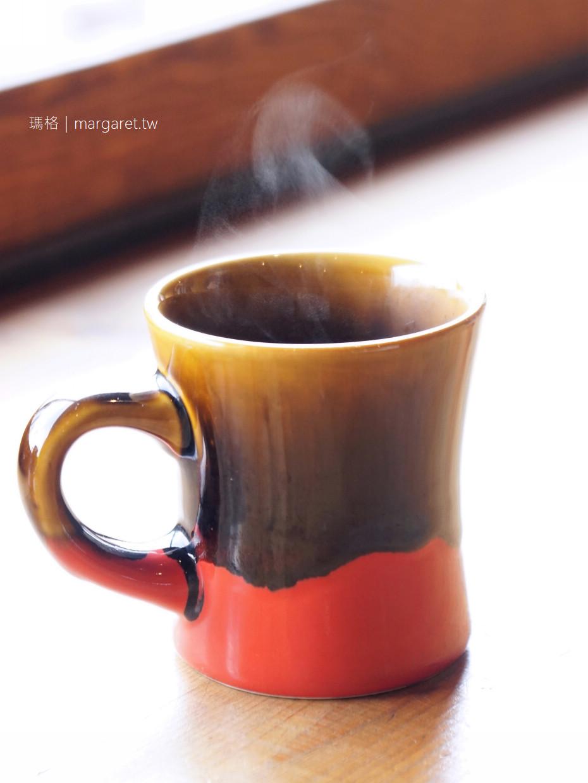 Manu Coffee。柳連橋合市場口|福岡河景咖啡