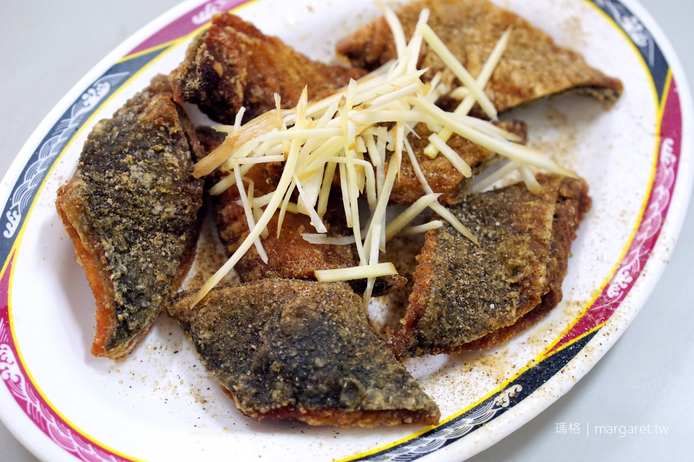 漁家村無刺虱目魚。竹山美食|魚肚麵線。炸魚皮。滷魚肚。樣樣美味