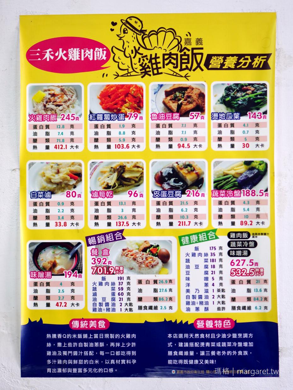 桃城三禾火雞肉飯。加辣蘿蔔干更美味|大推火雞肉片