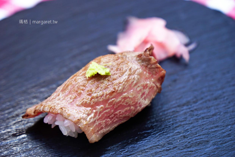 神戸牛石窯燒八坐和WEST。快閃美食|中華街西安門街頭享受神戶牛握壽司 @瑪格。圖寫生活