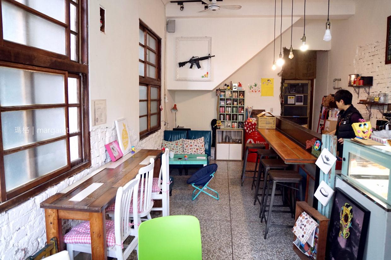 甜心亭。嘉義老屋咖啡|清新小洋房甜點屋