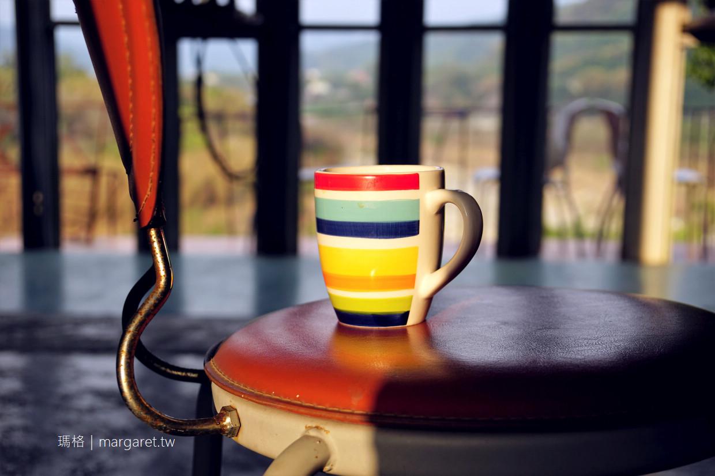 鐵帽咖啡。南投國姓鄉烏溪畔藝術角落|來一杯簡單生活態度