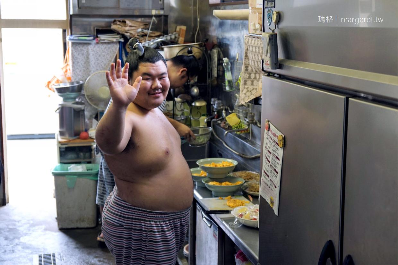 體驗真正的日本相撲火鍋|茨城龍崎。式秀部屋|跟相撲選手一起用餐,力士大廚煮給你吃