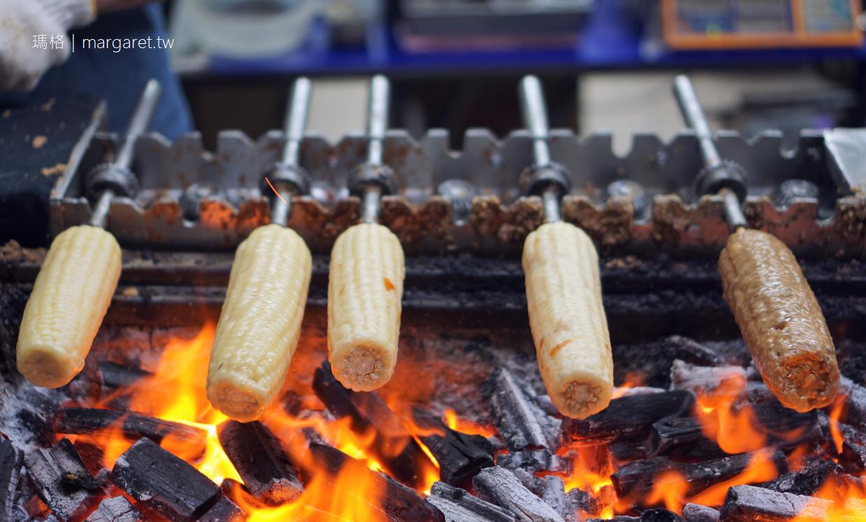 石頭鄉燜烤香味玉米。保安路海安路口|在地人帶路台南美食
