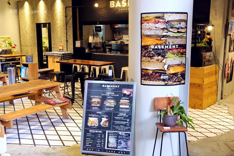 BASEMENT咖啡。三明治|大阪美國村輕食下午茶 @瑪格。圖寫生活