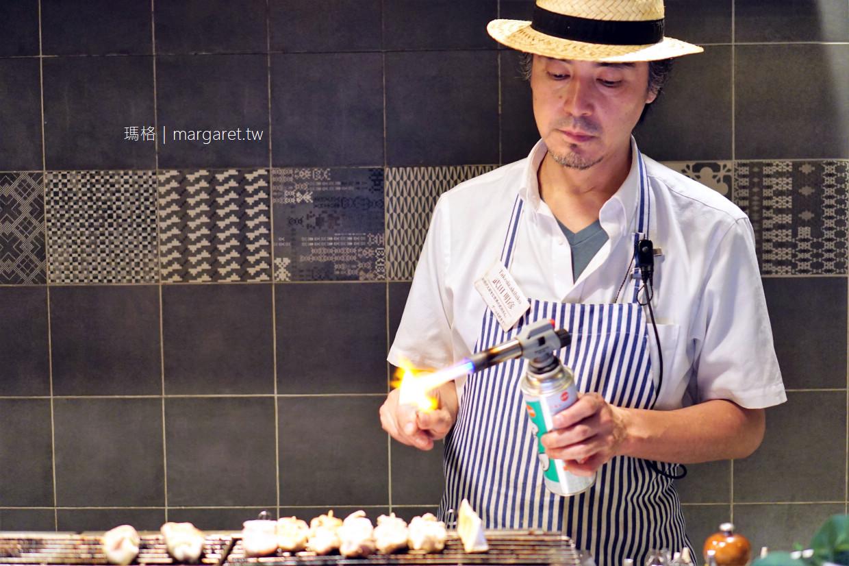 仙台銀座の肉男 Meat Man。型男廚師|雞肉燒烤餐酒館 x 葡萄酒吧 @瑪格。圖寫生活