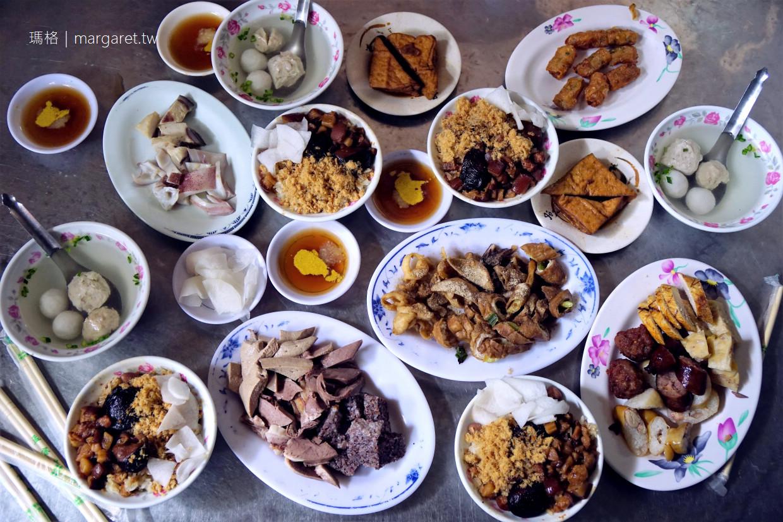 榮盛米糕+詹家阿財點心。吃雙拼才內行|台南國宴小吃。康樂市場美食