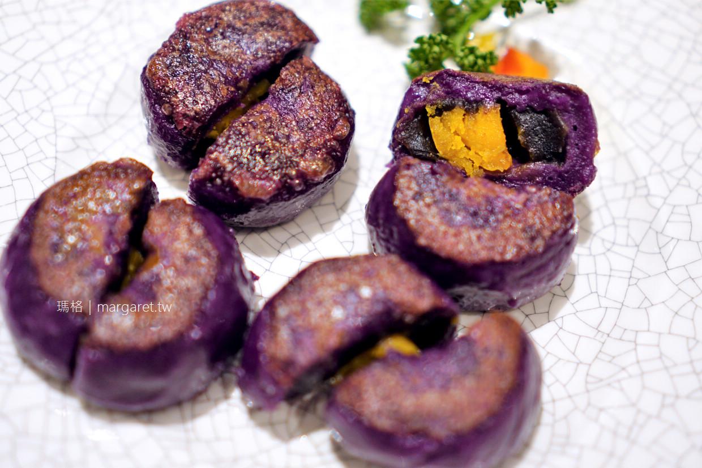 長園中餐廳。台南廣式片皮鴨創新吃法|7種配料 x 3種醬料 x 生菜總匯