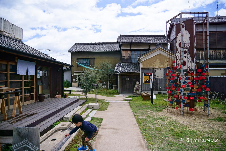 小豆島土庄町。迷路街區|偷看一眼妖怪美術館(二訪更新) @瑪格。圖寫生活
