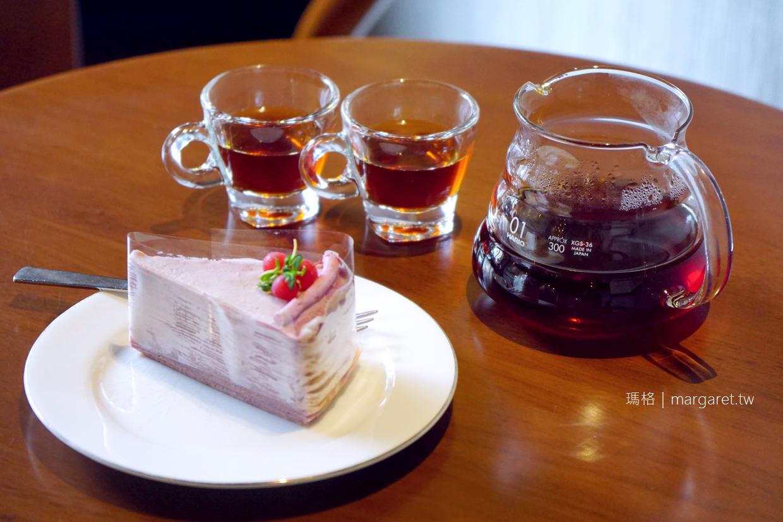 藏咖啡嘉義中山店|物超所值的千層蛋糕、精品咖啡