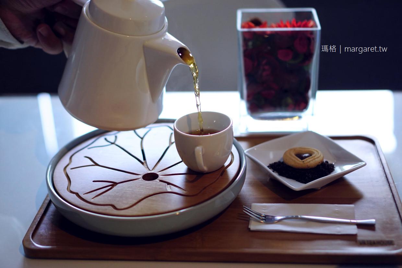 嘉義。VR文森家小茶館|仲夏芒果土石流熱蛋糕