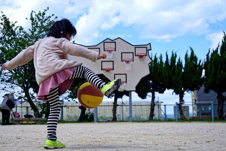 無人勝出多重籃框。豐島唐櫃|瀨戶內國際藝術祭 @瑪格。圖寫生活