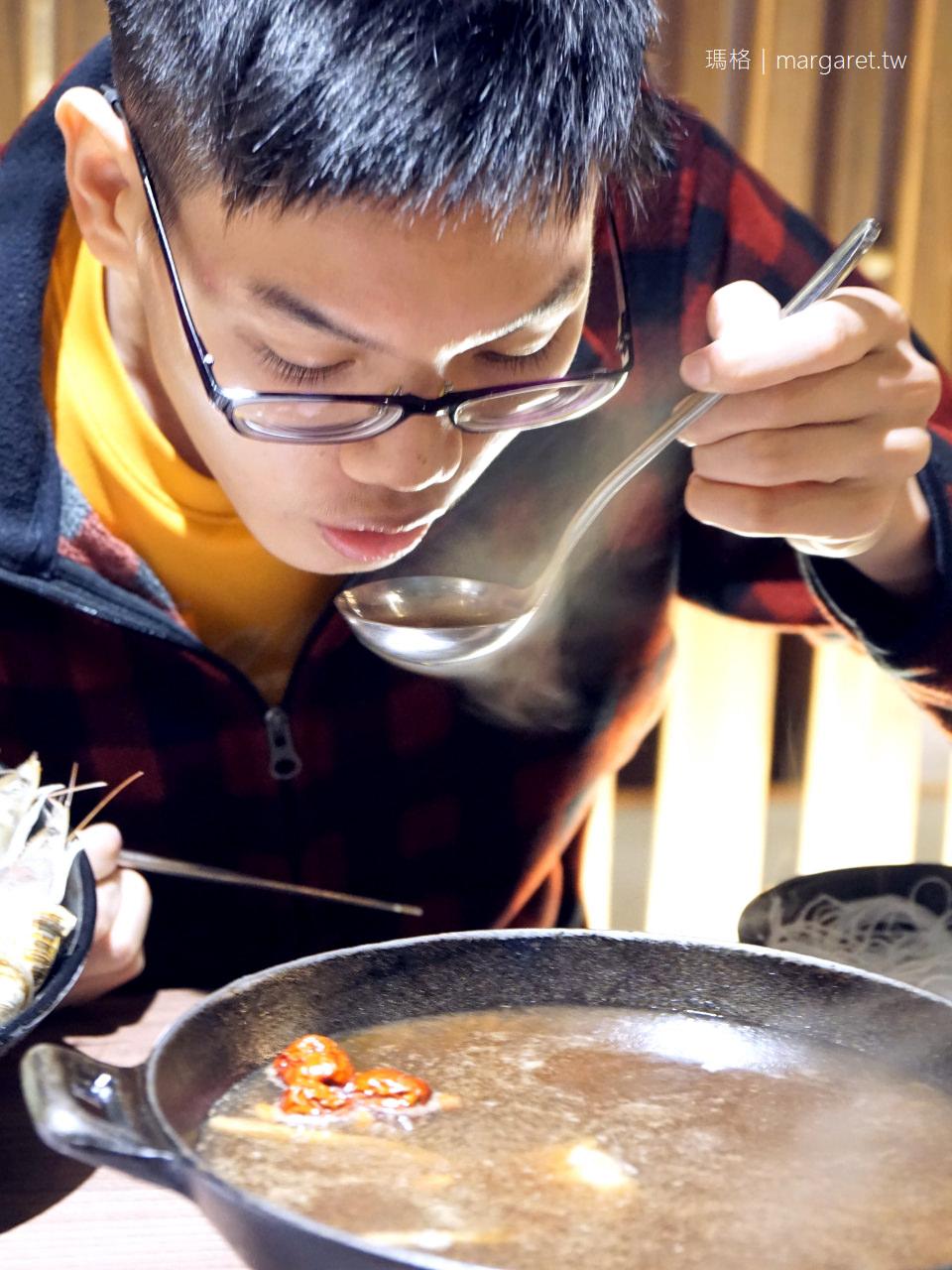 打狗霸冬季限定火鍋上市|一個人也可吃的酸菜白肉鍋,溫補藥膳海陸鍋暖心暖胃 @瑪格。圖寫生活