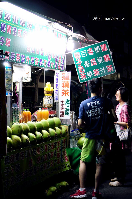 漳傳統飲料。文化路郵局旁帥阿公梅醋|夜市裡最愛的飲料攤