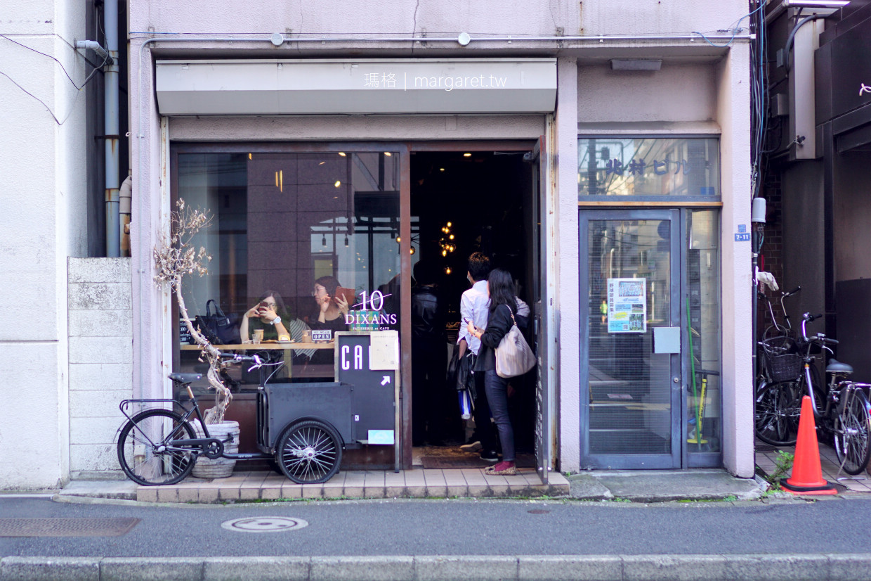 DIXANS Cafe。東京巨蛋附近咖啡館|客製化的可愛拉花 @瑪格。圖寫生活