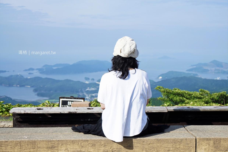 伊勢志摩天空郵筒。天空足湯|朝熊山展望台。日本百景 @瑪格。圖寫生活