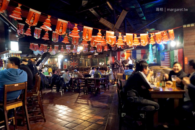 嘉義。卡加利美式餐廳|阿里山森林鐵路整木場改造的老屋酒吧