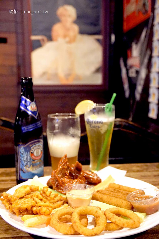 嘉義。卡加利美式餐廳 阿里山森林鐵路整木場改造的老屋酒吧 @瑪格。圖寫生活