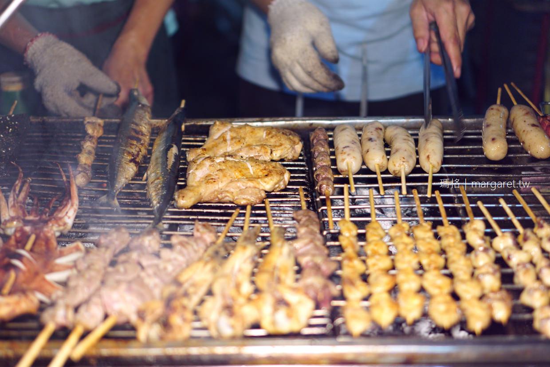 嘉義碳烤美食。流浪的無名烤肉攤|一週擺攤4天,地點通通不同