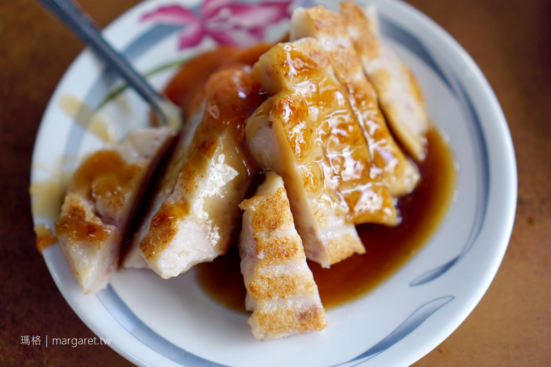 王家菜頭粿糯米腸。老賴茶棧|台中第二市場觀光客美食吃吃看